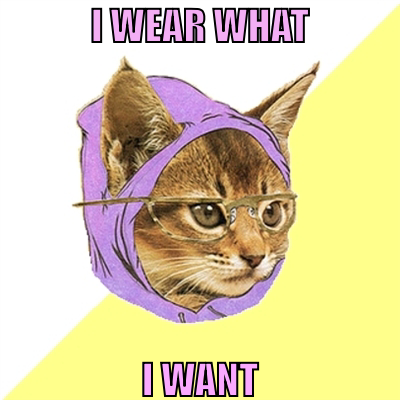 Cat, fashion, glasses